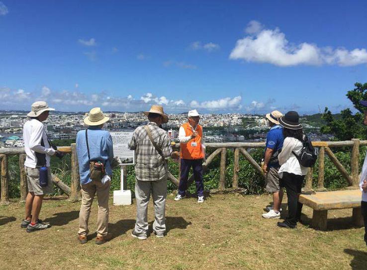 「戦跡・前田高地をあるく」ガイドツアー 映画『ハクソー・リッジ』の舞台をめぐる