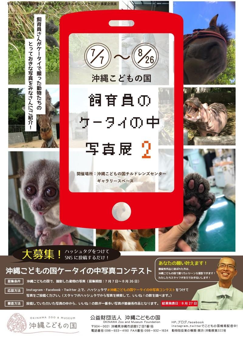 飼育員の携帯の中写真展2