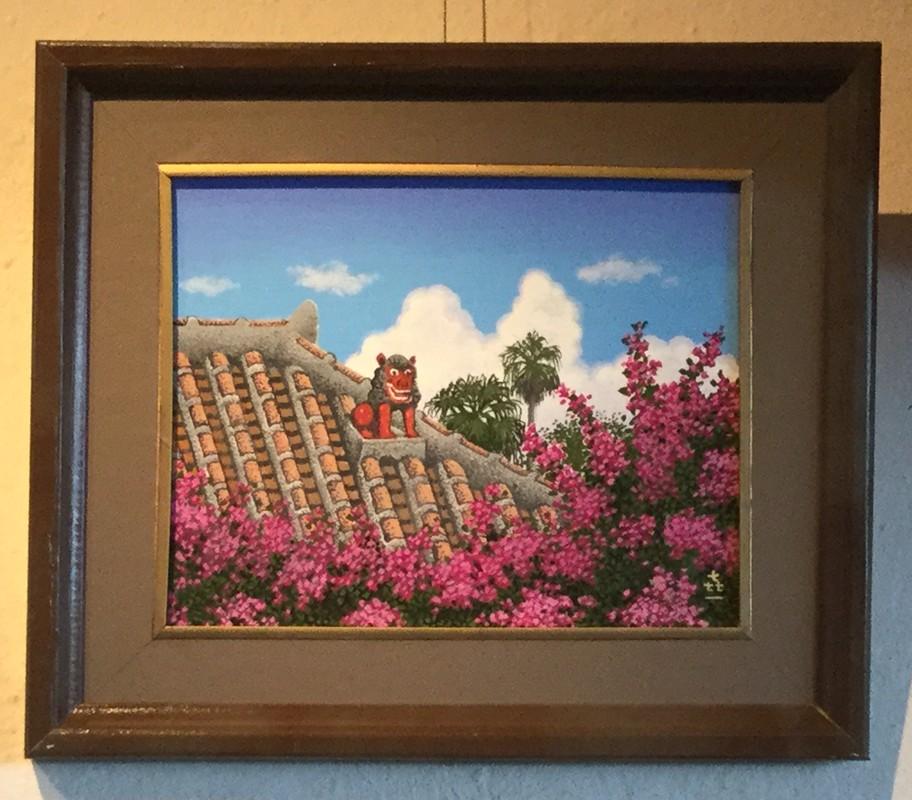 新城喜一絵画展「島のメルヘン」