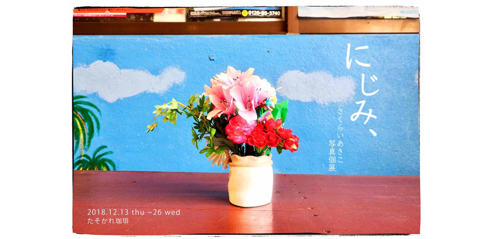 桜井亜希子写真個展「にじみ、」