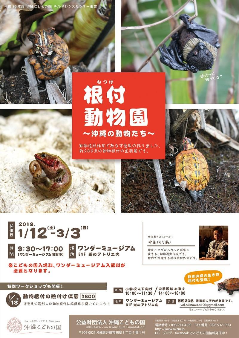 根付動物園~沖縄の動物たち~