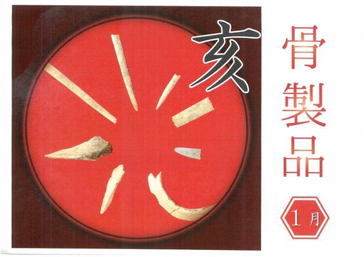 埋文コレクションVol.25「イノシシ骨製品」