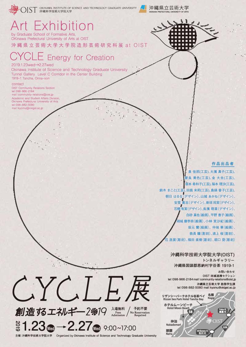 CYCLE展 創造するエネルギー
