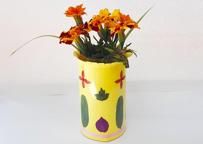 沖縄の植物体験イベント「花瓶飾り作り」&植物観察ツアー