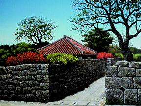 新城征孝「沖縄風景画」