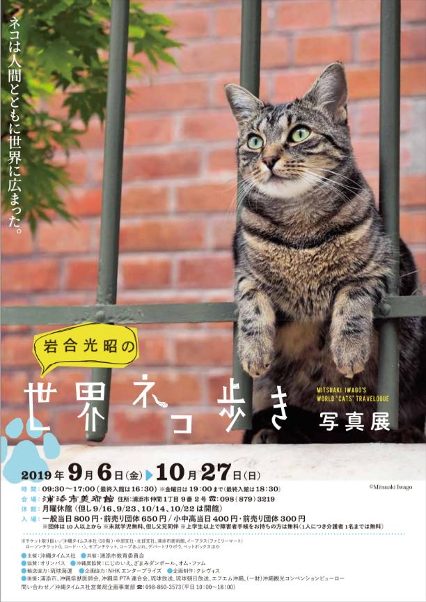 「岩合光昭の世界ネコ歩き」展