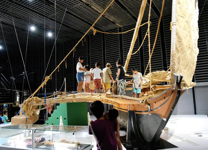 第2回 海洋文化教室「体感!太平洋のスーパーカヌー」