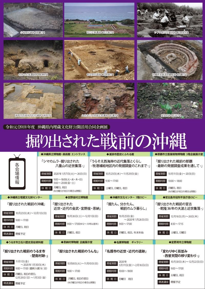 掘り出された戦前の那覇~最新の発掘調査成果を通して~
