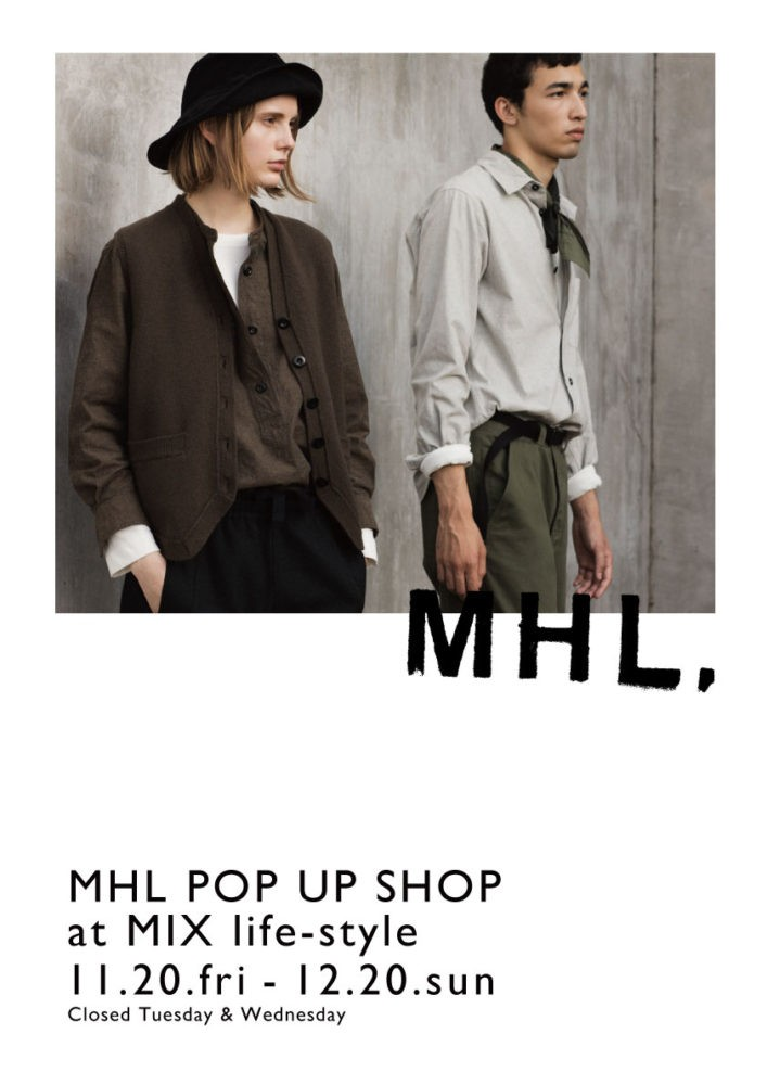 MHL POP UP SHOP
